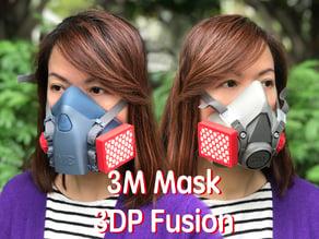 3M Half FacePiece Mask Cartridge and Cap - Covid-19