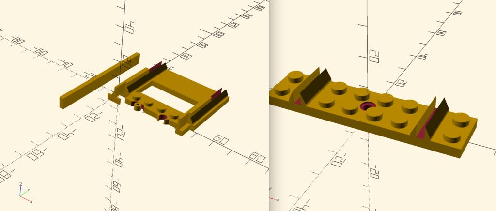 lego brick compatible tracks