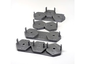 Magnet Insertion & Drill Guide Tools For Axolote Hex Walls