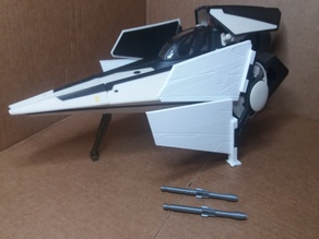 Star Wars V-Wing repro toy parts Kenner Hasbro