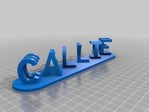 Callie dualword