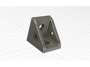Ender 5 PSU Relocating 90 degree brackets