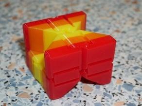 Cut Kobayashi Fidget Cube (Infinity Cube, parametric)