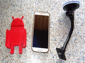 Universale Phone holder car, adaptable in mobile phone size