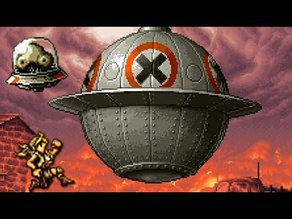 Metal Slug - Big UFO