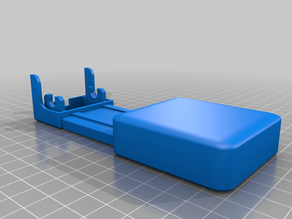 Ender 3 Pro end rail cover with Xiaofang ramp