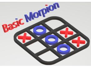 Basic Morpion (Tic tac toe)