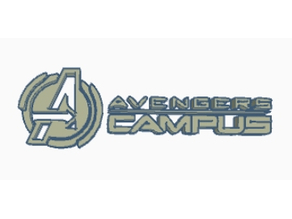 Avengers Campus Logo