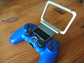 Dualshock 4 adaptater clip support for Sony Xperia XZ1 Compact WITH silicone case