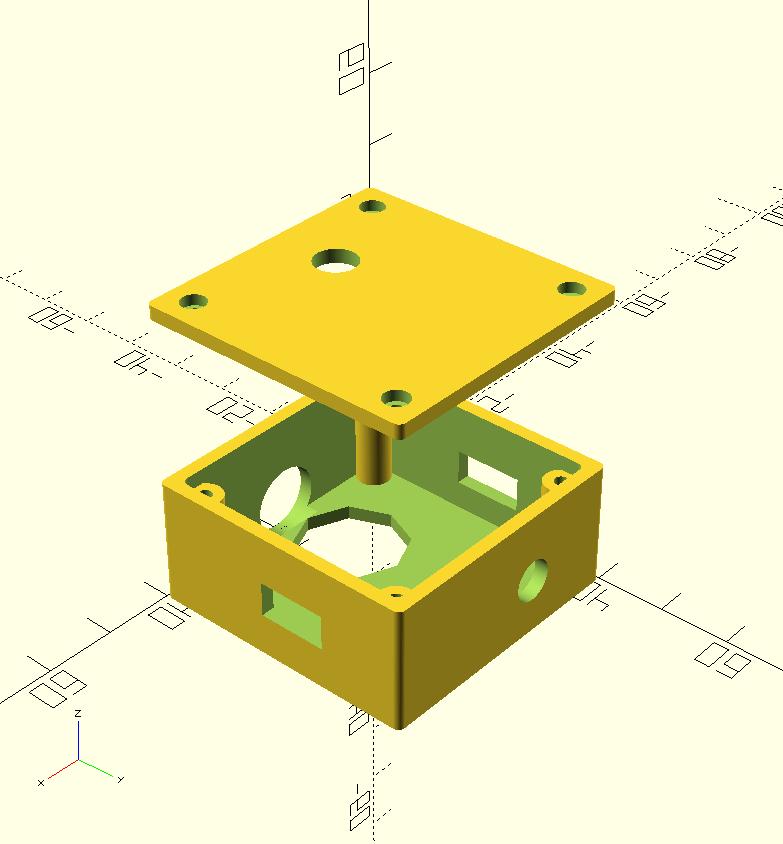 Parametric enclosure generator