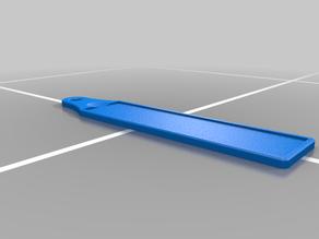 Printable Belt Leather Strop for Sharpening