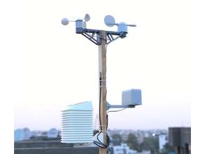 Solar Powered WiFi Weather Station V3.0