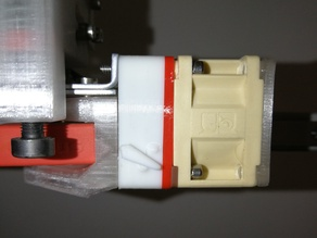Cetus cooling fan speed selector + spacer (print in place)