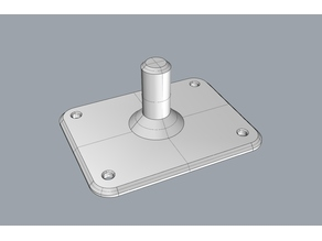 Roland SPD-SX Mounting Plate