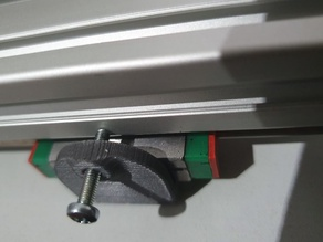 simple MGN12 rail alignment tool