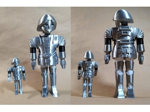 """Twiki from the tv series """"Buck Rogers"""""""