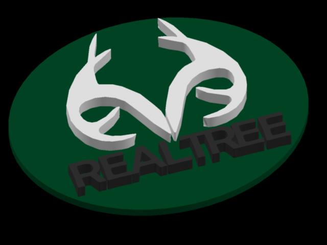 RealTree Logo Key Chain