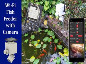 Wi-Fi Feed Feeder with camera