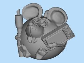 Mouse TV repairman