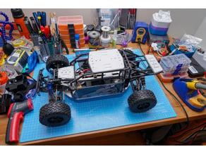 HobbyKing H-King Desert Fox camera payload mounts