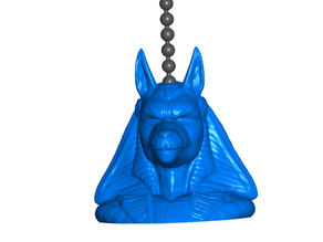 Anubis Pull Ball Chain or Keychain Knob | Handle | Fob | Finials