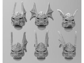 In Midnight Clad - More Skully Helmets