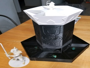 6 slot dice tower