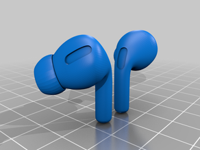 Apple AirPods Pro (Exact dimensions)