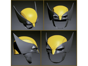 Wolverine Helmet (8 Parts)