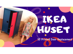 Ikea Huset toy wardrobe - door replacement