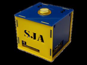 Laser cut box for Google Voice Kit