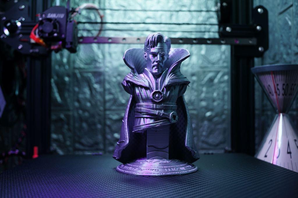 Doctor Strange Bust Support Free
