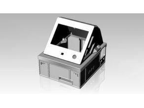 SKR-Mini E3 V1.2 Case, With BTT TFT35-E3 V3.0 Screen Mount