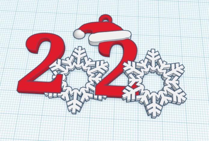 2020 Snowflake Ornament