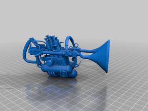 mozarts sonic cannon - steampunk