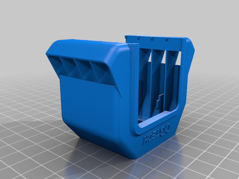 Prusa MK3S Extruder Stepper cooler (without glue or double sided sticky tape)
