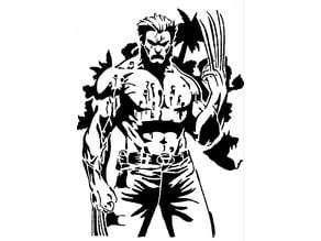 Wolverine Stencil 5