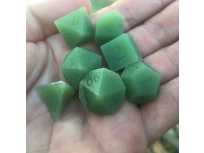 19mm wall supported dice set remix