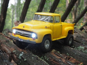 RC truck Ford F100 1956 on WPL