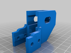 Ender 3 Y-Axis Belt Tensioner Remix Extended Mount