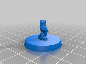 Owl - tabletop miniature