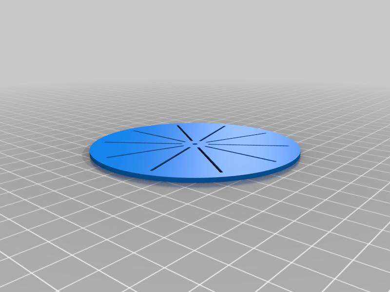 Circle Divider Template