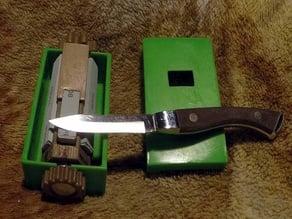 vintage Wet Stone Sharpener 1/4 scale improved