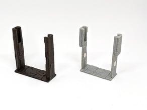 Door Frame Insert for Axolote Hex using rbross Doors (Remix)