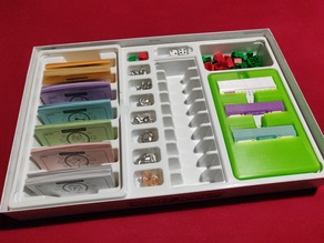 Monopoly Game Card Box Holder Container