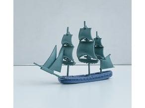 Mahonesa-class Spanish Frigate (34 gun) 1789 – 1825
