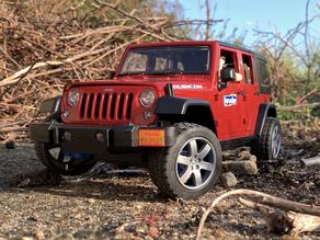 RC conversion of Bruder Jeep Wrangler JK