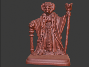 HeroQuest Archmage (Fixed Head)