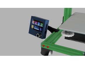 Slim and Elegant BTT TFT35 E3 V3 dual mode touch screen Extrusion Mount