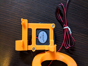 [Anet/Prusa i3] Z probe mount + (Fan) mount